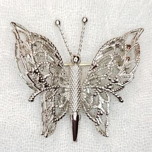 Lacey Butterfly Brooch by Monet